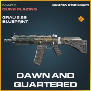 Dawn and Quartered Grau 5.56 skin legendary call of duty modern warfare warzone item