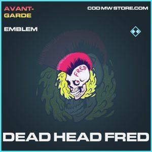 Dead Head Fred emblem rare call of duty modern warfare warzone item joker