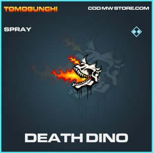 Death dino spray rare call of duty modern warfare warzone item