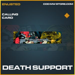 Death Support calling card legendary call of duty modern warfare warzone item