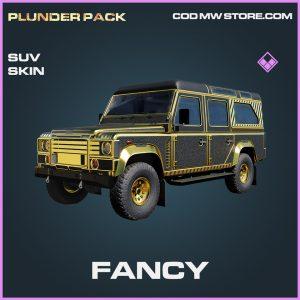 Fancy SUV skin epic call of duty modern warfare warzone item