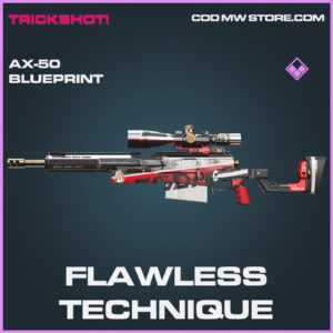 Flawless Technique AX-50 skin epic call of duty modern warfare warzone item