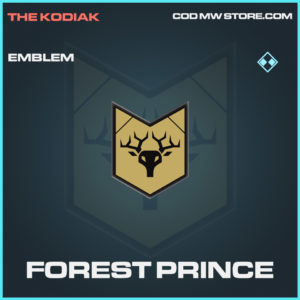 Forest Prince emblem rare call of duty modern warfare warzone item