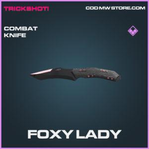 Foxy Lady Combat knife epic call of duty modern warfare warzone item