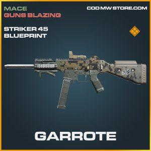 Garrote Striker 45 skin legendary call of duty modern warfare warzone item