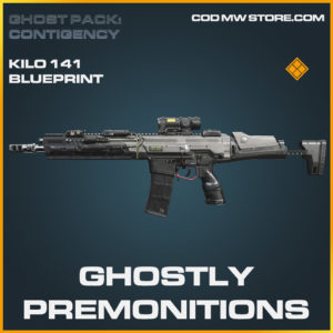 Ghostly Premonitions Kilo 141 skin legendary call of duty modern warfare warzone item