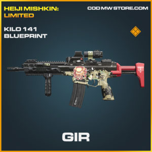 Gir kilo 141 skin legendary blueprint call of duty modern warfare warzone item