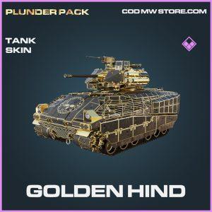 golden hind tank skin epic call of duty modern warfare warzone item