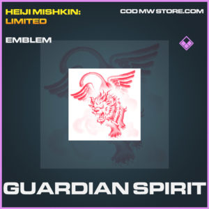 Guardian Spirit emblem rare call of duty modern warfare warzone item