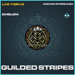Guilded Stripes emblem rare call of duty modern warfare warzone item