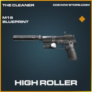 High Roller M19 skin legendary blueprint call of duty modern warfare warzone item
