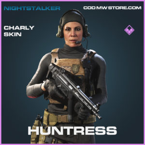 Huntress charly skin epic call of duty modern warfare warzone item