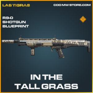 In the tall grass R9-0 Shotgun legendary blueprint call of duty modern warfare warzone item