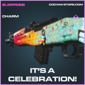 It's a celebration charm epic call of duty modern warfare warzone item