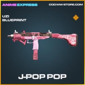 J-Pop Pop Uzi skin legendary call of duty modern warfare warzone item