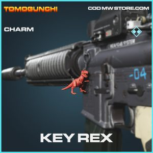 Key Rex charm rare call of duty modern warfare warzone item