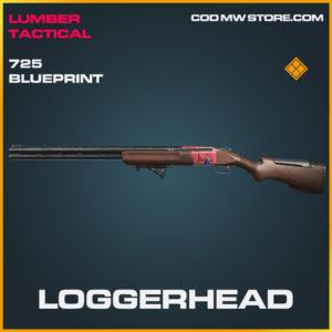 Loggerhead 725 skin legendary blueprint call of duty modern warfare warzone item