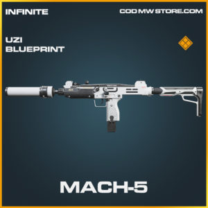 Mach-5 Uzi skin legendary blueprint call of duty modern warfare warzone item