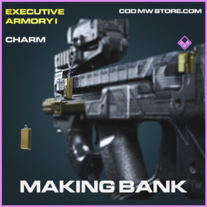 Making Bank Charm epic call of duty modern warfare warzone item
