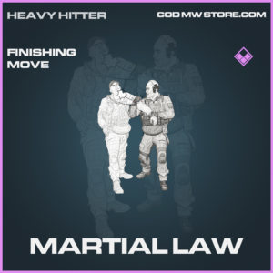 Martial Law finishing move epic call of duty modern warfare warzone item