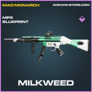 Milkweed MP5 skin epic call of duty modern warfare warzone item