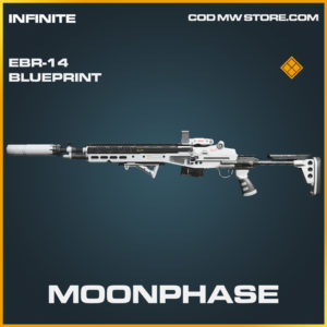 Moonphase EBR-14 skin legendary blueprint call of duty modern warfare warzone item