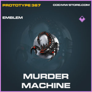 Murder Machine emblem epic call of duty modern warfare warzone item