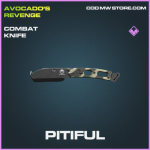 Pitiful combat knife epic call of duty modern warfare warzone item