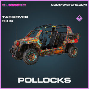 Pollocks tac rover skin epic call of duty modern warfare warzone item