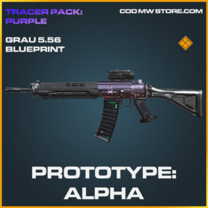 Prototype: Alpha Grau 5.56 skin legendary blueprint call of duty modern warfare warzone item