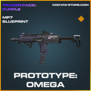 Prototype: Omega MP7 skin legendary call of duty modern warfare warzone item