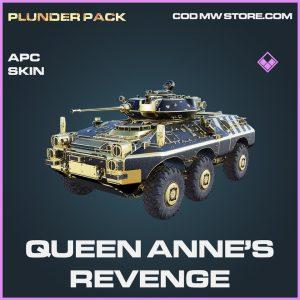 Queen Anne's annes revenge apc skin epic call of duty modern warfare warzone item