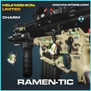 Ramen-Tic charm rare call of duty modern warfare warzone item