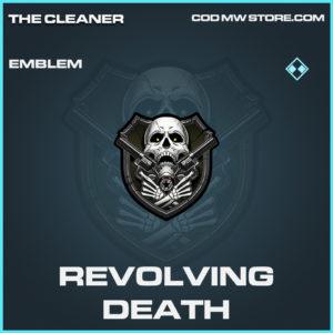 Revolving Death emblem rare call of duty modern warfare warzone item