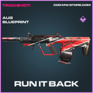Run It Back AUG skin epic blueprint call of duty modern warfare warzone item