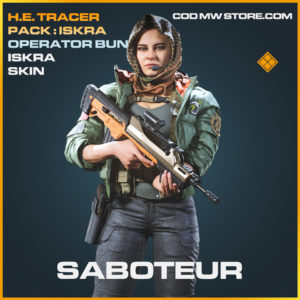 Saboteur iskra skin legendary call of duty modern warfare warzone item