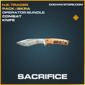 Sacrifice Combat knife epic call of duty modern warfare warzone item
