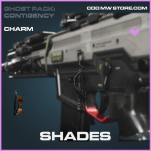 Shades charm rare call of duty modern warfare warzone item