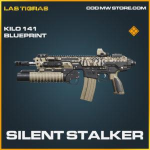 Silent Stalker skin Kilo 141 legendary blueprint call of duty modern warfare warzone item
