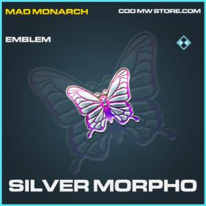 Silver Morpho emblem rare call of duty modern warfare warzone item