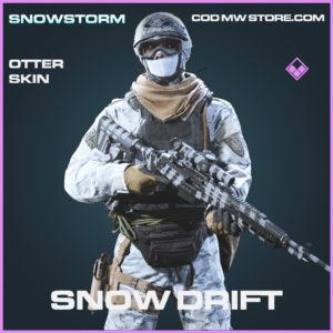Snow Drift otter skin epic call of duty modern warfare warzone item