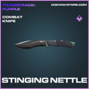 Stinging Nettle combat knife epic skin call of duty modern warfare warzone item