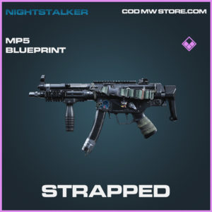 Strapped MP5 skin epic blueprint call of duty modern warfare warzone item