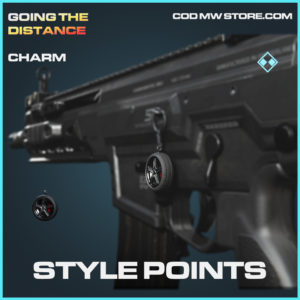 Style Points charm rare call of duty modern warfare warzone item