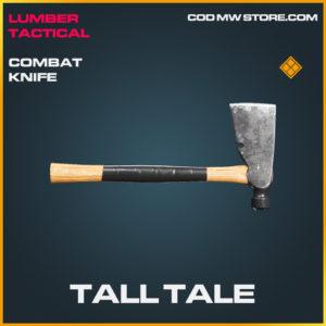 Tall Tale comat knife legendary call of duty modern warfare warzone item