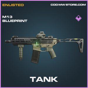 Tank m13 skin epic blueprint call of duty modern warfare warzone item
