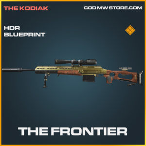 The frontier HDR skin legendary blueprint call of duty modern warfare warzone item