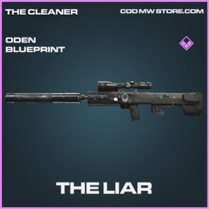 The Liar oden blueprint epic call of duty modern warfare warzone item