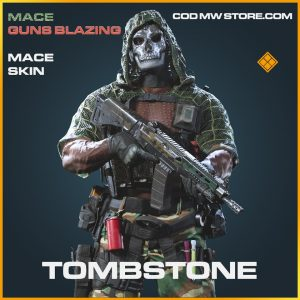 Tombstone mace skin legendary call of duty modern warfare warzone item