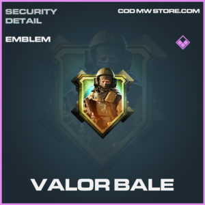 Valor Bale emblem epic call of duty modern warfare warzone item